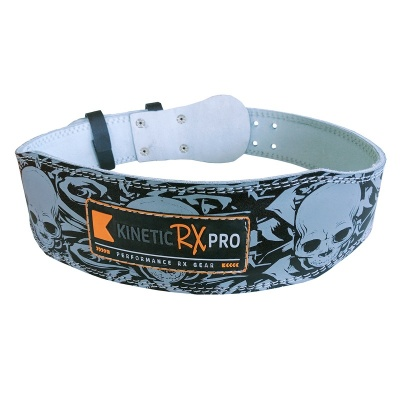 Kinetic RX Pro Heavy Duty Leather Weightlifting Belt