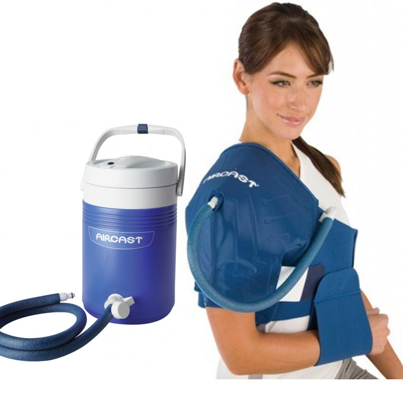 Aircast cryo shoulder cuff with automatic cold therapy ic for Cryo cuff ic motorized cooler