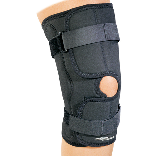 donjoy hinged knee brace instructions