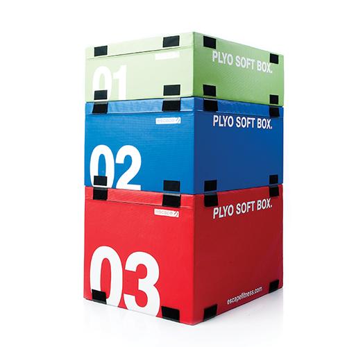 Escape Fitness Plyosoft Boxes 30cm 60cm Think Sport