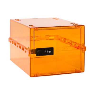 in the gym - Lockable Storage Box