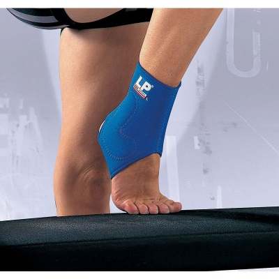 LP Neoprene Ankle Support with Silicone Pad