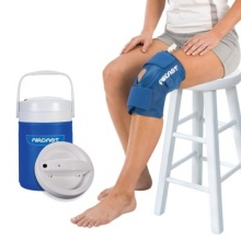 Aircast Cryo Knee Cuff with Automatic Cold Therapy IC Cooler Unit Saver Pack
