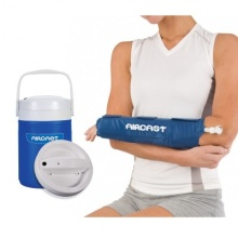 Aircast Cryo Hand and Wrist Cuff with Automatic Cold Therapy IC Cooler Unit Saver Pack