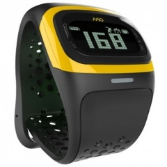 MIO Alpha 2 Yellow Heart-Rate Monitor with Unisex Strap