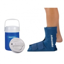 Aircast Cryo Ankle Cuff with Automatic Cold Therapy IC Cooler Unit (Saver Pack)