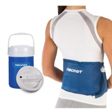Aircast Cryo Back Cuff with Automatic Cold Therapy IC Cooler Unit Saver Pack