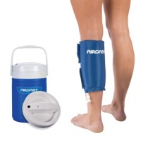 Aircast Cryo Calf Cuff with Automatic Cold Therapy IC Cooler Unit (Saver Pack)