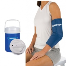 Aircast Cryo Elbow Cuff with Automatic Cold Therapy IC Cooler Unit Saver Pack