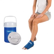 Aircast Cryo Foot Cuff with Automatic Cold Therapy IC Cooler Unit Saver Pack