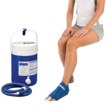 Aircast Foot Cryo/Cuff with Cryo/Cuff Cooler Saver Pack