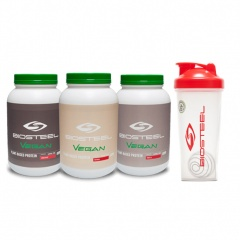 BioSteel Plant-Based Vegan Protein Powder and Shaker