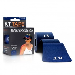 KT Tape Kinesiology Therapeutic Tape (Navy Blue)