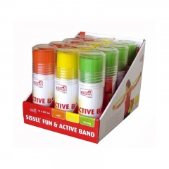 Box of Twelve Sissel Fun and Active Exercise Bands