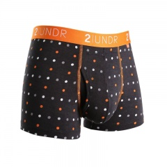 2UNDR Swing Shift Performance Trunks with Printed Patterns
