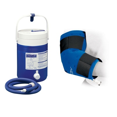 Donjoy Arcticflow Elbow Wrap and Cold Therapy Gravity Cooler Saver Pack