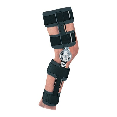 Donjoy Telescoping Cool IROM Post Operative Knee Brace
