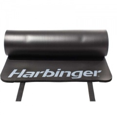 Harbinger DuraFoam Black Antimicrobial Exercise Mat 3/8''