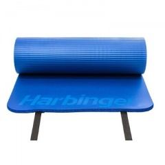 Harbinger DuraFoam Blue Antimicrobial Exercise Mat 5/8''