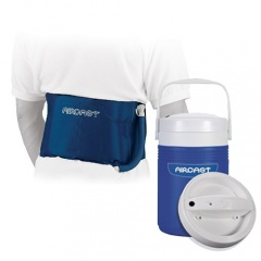 Aircast Back, Hip and Rib Cryo Cuff and Automatic Cold Therapy IC Cooler Saver Pack
