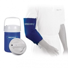 Aircast Elbow Cryo Cuff and Automatic Cold Therapy IC Cooler Saver Pack