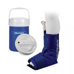Aircast Paediatric Ankle Cryo Cuff and Automatic IC Cooler Cold Therapy Saver Pack