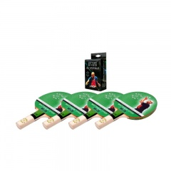 Butterfly Indoor Table Tennis Pack for 4 Players