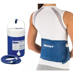 Aircast Back, Hip and Rib Cryo Cuff and Gravity Cooler Saver Pack