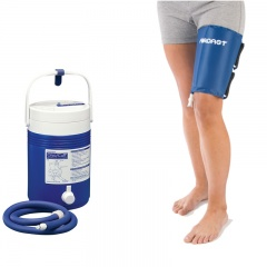 Aircast Thigh Cryo Cuff and Gravity Cooler Saver Pack