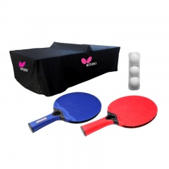 Butterfly Outdoor Deluxe Table Tennis Pack for 2 Players