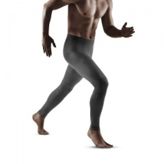 CEP Grey 3.0 Running Compression Tights for Men