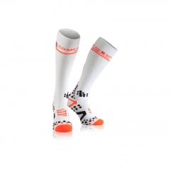 Compressport V2.1 White Compression Socks