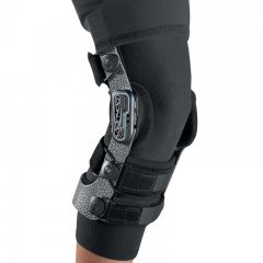 Black Lycra Undergarment for the Donjoy Armor Professional Knee Brace