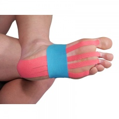 More Mile Pre-Cut Foot Support Kinesiology Tape