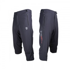 Piu Miglia 2 in 1 3/4 Length Mens Baggy Cycling Shorts