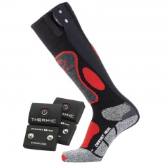 Therm-IC Powersock Comfort Heat Socks Set for Men with S-Pack 1200 Battery